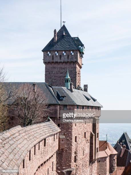Chateau du Haut Koenigsbourg. Images taken in the Alsace Region of France between Thannenkirch and Chatenois