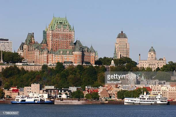 Chateau Frontenac na antiga Cidade de Quebec