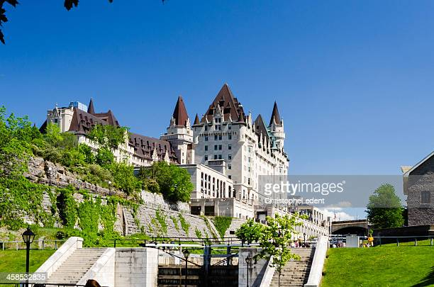 Chateau Laurier and Rideau Canal Locks