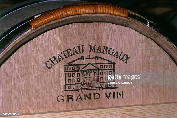 Chateau Margaux wine barrel Corinne Mentzelopoulos is owner and CEO of the estate of Chateau Margaux vineyards a Premier Grand Cru Classe owned by...