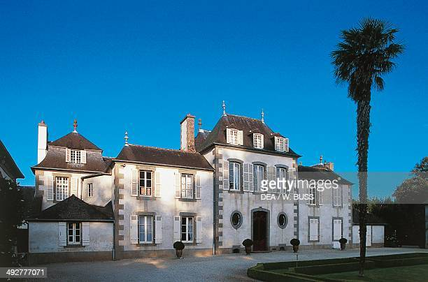 Chateau of Montmarin 18th century Brittany France