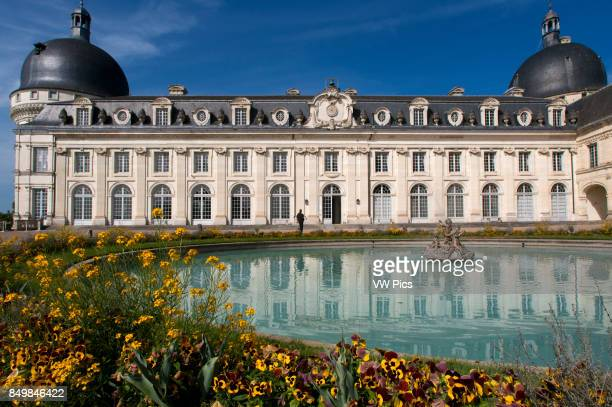 Chateau of Valencay in the Loire Valley Indre Centre France Famous for its history For over thirty years it was owned by the illustrious Charles...