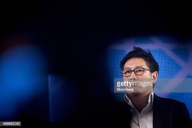 Chatri Sityodtong founder and chairman of ONE Championship listens at the Bloomberg ASEAN Business Summit in Bangkok Thailand on Friday Dec 4 2015...