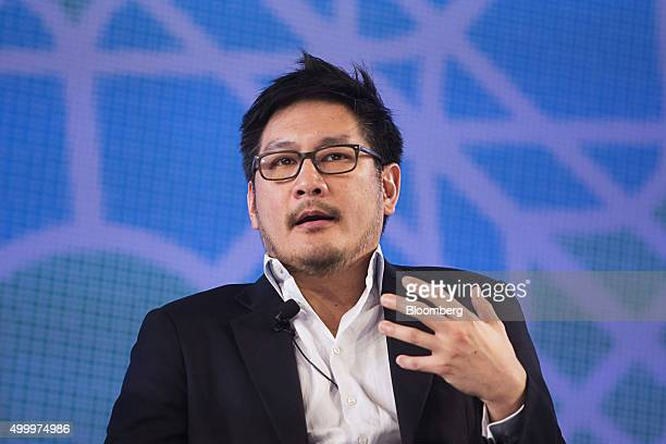 Chatri Sityodtong founder and chairman of ONE Championship speaks at the Bloomberg ASEAN Business Summit in Bangkok Thailand on Friday Dec 4 2015...