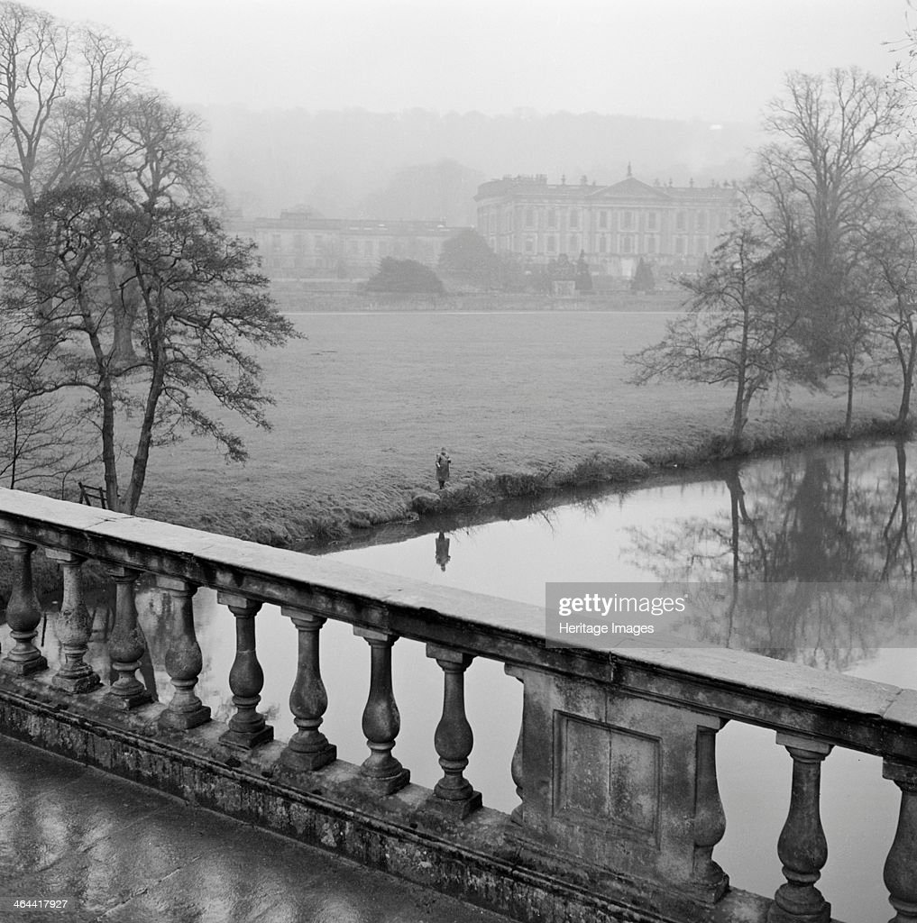 Chatsworth House, Derbyshire, 1959. Artist: John Gay : News Photo