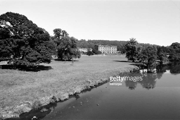 Chatsworth House Derbyshire 30th June 1976