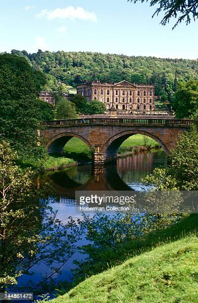 Chatsworth House Derbyshire England United Kingdom