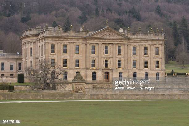 Chatsworth House in Derbyshire following the largest renovation of the estate since the 1820s which has taken ten years and cost pound32 million