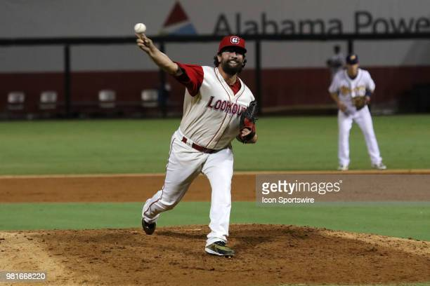 Chattanooga Lookouts pitcher Todd Van Steensel during the 2018 Southern League AllStar Game The South AllStars defeated the North AllStars by the...