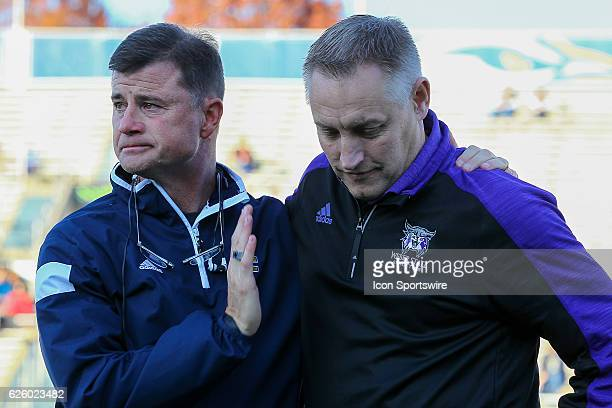Chattanooga Mocs AD David Blackburn thanked Weber State Wildcats AD Jerry Bovee for the support their university has shown to the families of the...