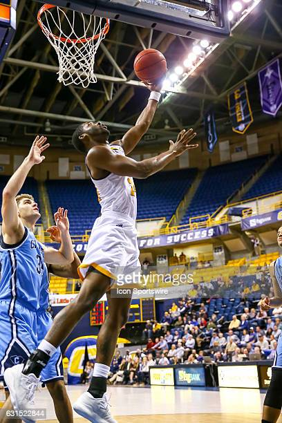 Chattanooga Mocs guard Casey Jones shoots the ball during the second half of the NCAA basketball game between The Citadel Bulldogs and the UT...