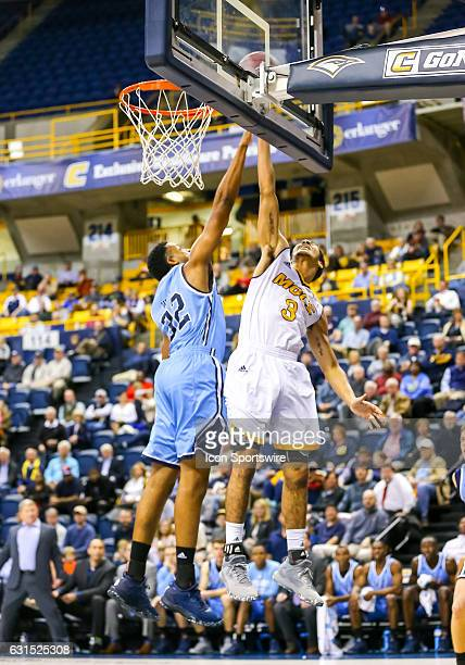 Chattanooga Mocs guard Nat Dixon scores with a lay up during the first half of the NCAA basketball game between The Citadel Bulldogs and the UT...