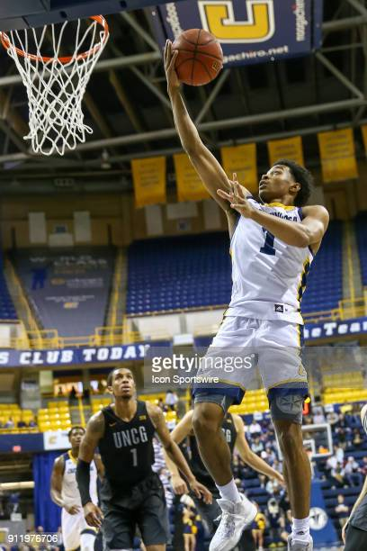 Chattanooga Mocs guard Rodney Chatman goes in for an easy lay up during the first half of the college basketball game between UTChattanooga and UNC...