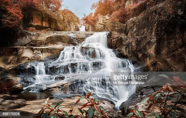 Chattrakan Waterfall Level 4., Phitsanulok, Thailand