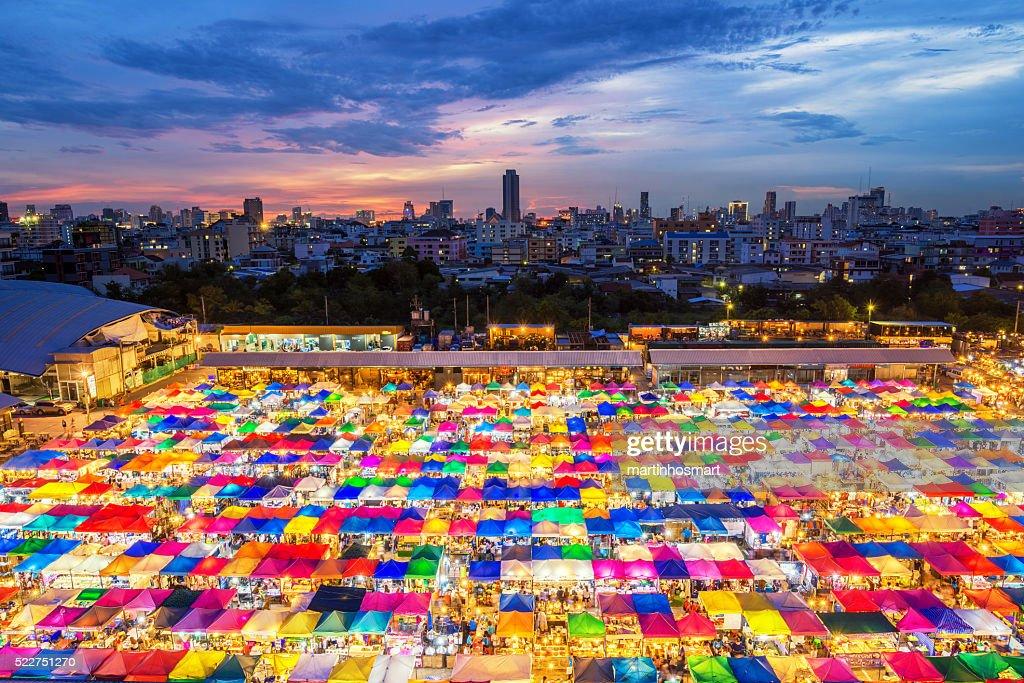 chatujak market secondhand market in Bangkok , Thailand : Stock Photo