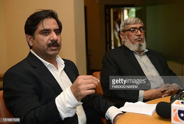 Chaudhry Khurshid Zaman secretary general of TehreekeTahafuzz Pakistan or Save Pakistan Movement the political party launched by Abdul Qadeer Khan...