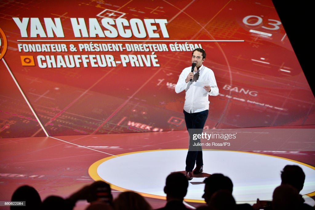 Chauffeur Prive CEO Yan Hascoet attends the third edition of Bpifrance INNO generation at AccorHotels Arena on October 12, 2017 in Paris, France. This event brings together more than 30,000 entrepreneurs and economic players to discover the trends and technologies that transform the economy, meet experts and build alliances.