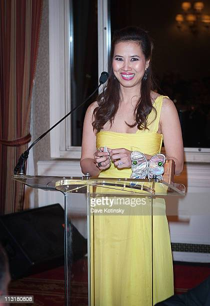ChauGiang 'Chosan' Thi Nguyen attends the 3rd annual National Meningitis Association's Give Kids a Shot gala at the New York Athletic Club on April...