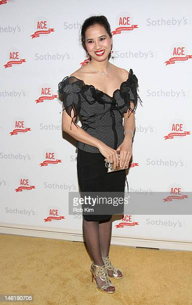 ChauGiang 'Chosan' Thi Nguyen attends The Twentieth Anniversary Gala Of ACE at Sotheby's on June 11 2012 in New York City
