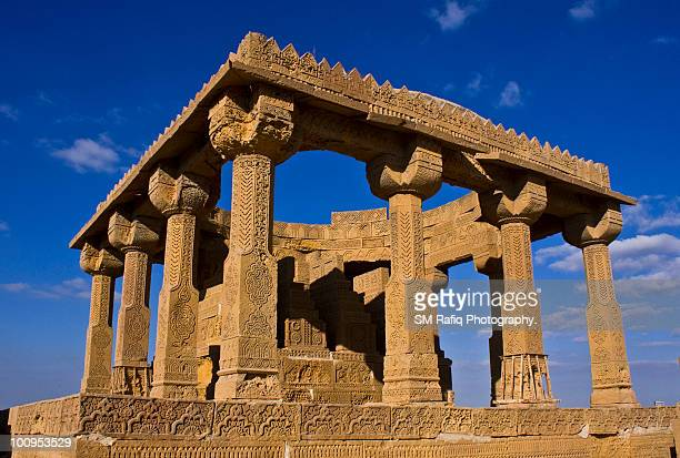 chaukhandi tombs - sind stock pictures, royalty-free photos & images