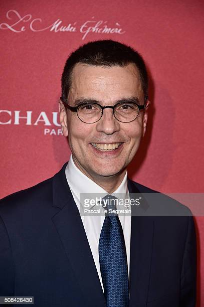 Chaumet CEO JeanMarc Mansvelt attends the Chaumet Party At Chaumet Ephemeral Museum on February 4 2016 in Paris France