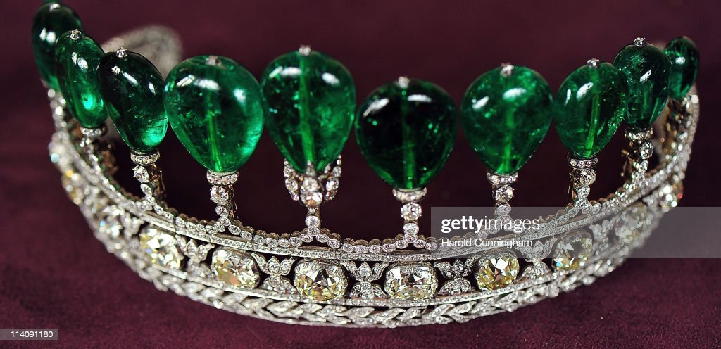 Sotheby's Magnificent Noble Jewels And Important Watches Preview : News Photo