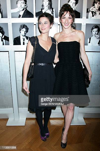 Chaumet Evening In The Honor Of The Revelations Of Cesar 2009 In Paris France On January 20 2009 Melanie Bernier and Salome Stevenin