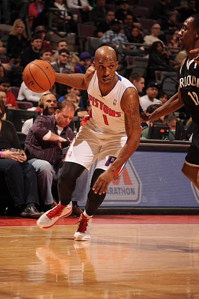 Chauncey Billups Pistons 2014