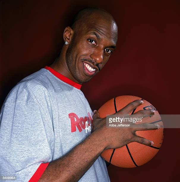 Chauncey Billups of the Detroit Pistons poses for a portrait during the 2004 NBA AllStar Weekend on February 13 2004 in Los Angeles California NOTE...