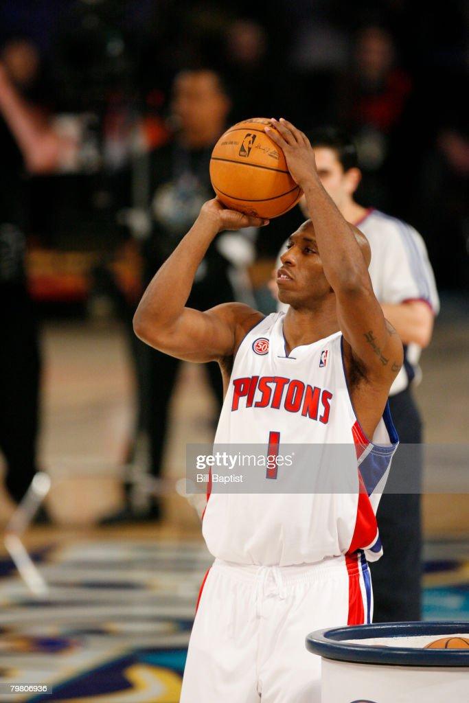 NBA All-Star Haier Shooting Stars : News Photo
