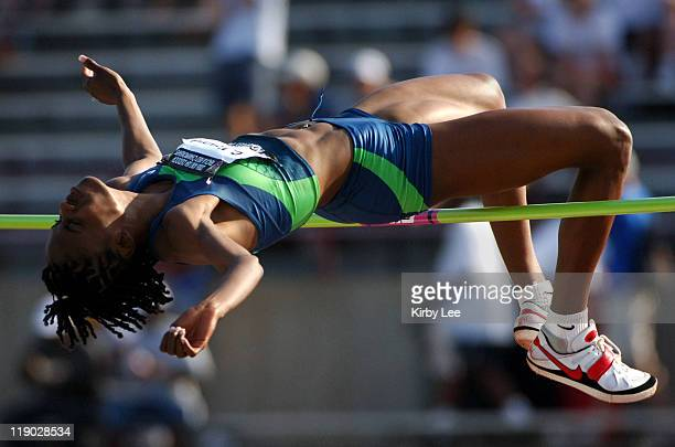 Chaunte Howard won the women's high jump with a meet record 6-7 in the USA Track & Field Championships at Michael A. Carroll Track & Soccer Stadium...