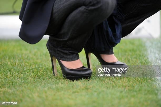 Chaussures Cecile de MENIBUS Objectif CHampion Direct 8 Entrainement de Lyon Tola Vologe