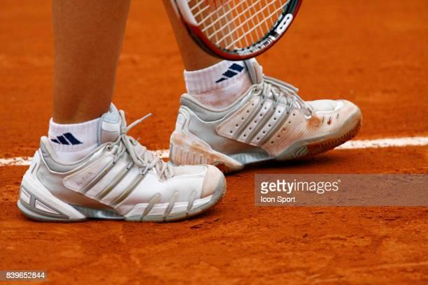 Chaussures de Justine HENIN Roland Garros 2007 Jour 1