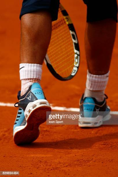 Chaussures de Rafael NADAL / Lleyton HEWITT Roland Garros 2007 Jour 9