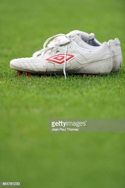 ILLUSTRATION chaussures Umbro Grenoble / Marseille 1ere journee de Ligue 1 Stade des Alpes Grenoble