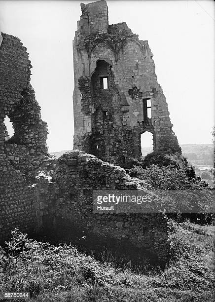Chauvigny . Ruins of the baronnial castle .