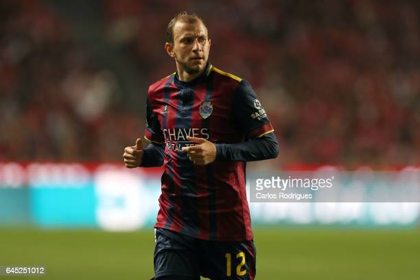 Chaves midfielder Renan Bressan from Beilorussia during the match between SL Benfica and GD Chaves for the Portuguese Primeira Liga at Estadio da Luz...