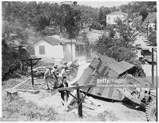 Chavez Ravine evictions to make way for Dodger Stadium construction Sergeant Ken Cable Mrs Victoria Angustain Faryl Patton Gabrielle Johnston Ira...