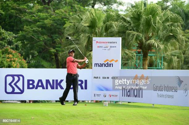 Chawrasia of India pictured during the Pro Am tournament ahead of the Indonesian Masters 2017 at Royale Jakarta Golf Club on December 12 2017 in...
