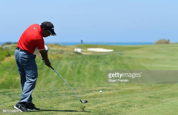 Chawrasia of India plays a shot from the fairway during day two of the Rocco Forte Open at Verdura Golf and Spa Resort on May 11 2018 in Sciacca Italy