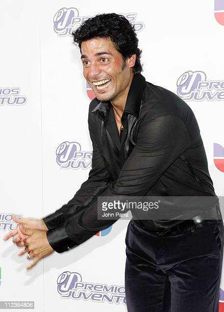 Chayanne during 2005 Premios de la Juventud - Arrivals at University of Miami in Coral Gables, Florida, United States.