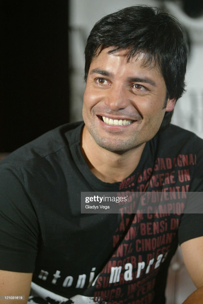 Chayanne Holds Press Conference in San Juan - April 12, 2007