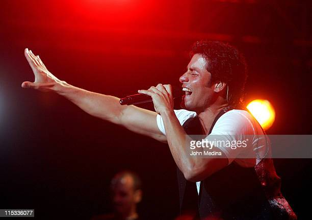 Chayanne during Chayanne in Concert at HP Pavilion in San Jose California May 27 2007 at HP Pavilion in San Jose California United States