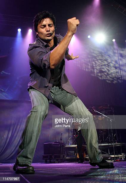 "Chayanne during Romance 106.7 Presents ""Viva Romance"" - April 7, 2006 at American Airlines Arena in Miami, Florida, United States."