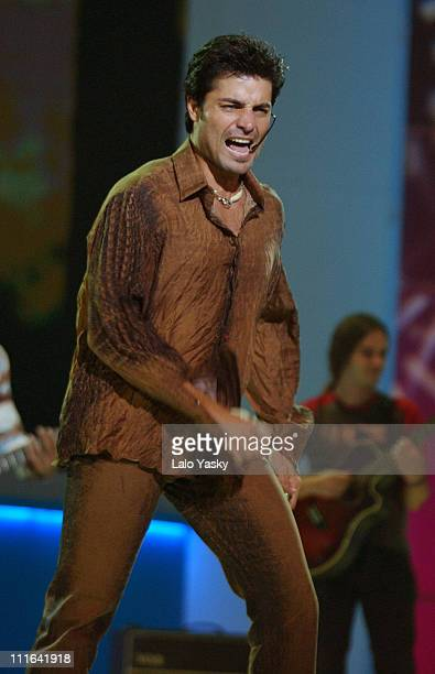 Chayanne during Spanish Public Television's Channel TVE New Season Gala at Bruuel Studios in Madrid Spain