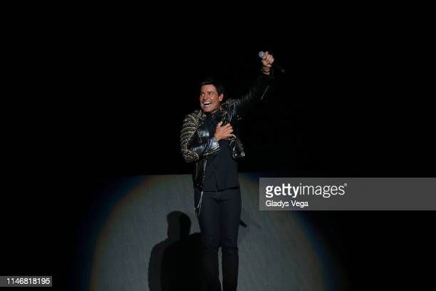 "Chayanne performs as part of ""Desde El Alma Tour"" at Coliseo Jose M. Agrelot on May 3, 2019 in San Juan, Puerto Rico."