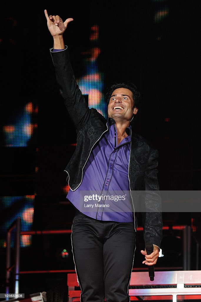 Chayanne performs at American Airlines Arena on June 4, 2010 in Miami, Florida.