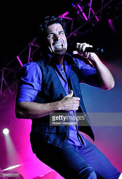 Chayanne performs in concert during his 'No Hay Imposibles' tour at the Palau Olimpic on September 17, 2010 in Barcelona, Spain.