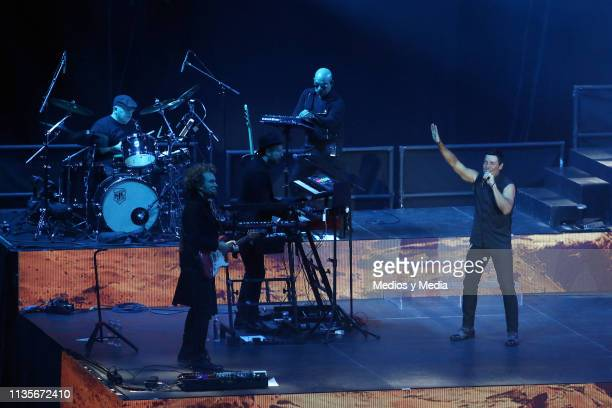 Chayanne performs live on stage during a concert at Auditorio Nacional on March 13 2019 in Mexico City Mexico