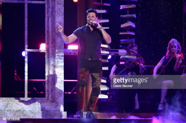 Chayanne performs onstage at the 2018 Billboard Latin Music Awards at the Mandalay Bay Events Center on April 26, 2018 in Las Vegas, Nevada.